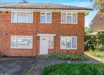 Thumbnail 2 bedroom maisonette for sale in Bransby Road, Chessington, Surrey