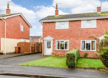 Thumbnail 2 bed semi-detached house for sale in Geneshall Close, Stafford, Staffordshire