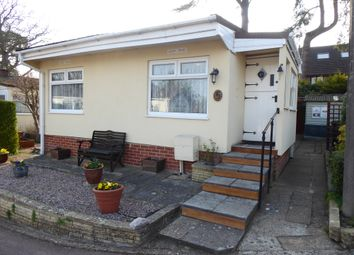 Thumbnail 2 bed mobile/park home for sale in Firs Park, Durford Road, Petersfield, Hampshire