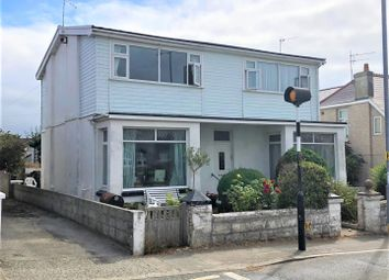 Thumbnail 3 bed flat for sale in Edgcumbe Avenue, Newquay, Cornwall
