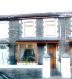 Thumbnail 3 bed terraced house to rent in Brithweunydd Road Trealaw, Tonypandy