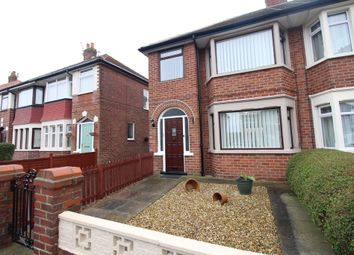 Thumbnail 3 bedroom end terrace house for sale in Salmesbury Avenue, Blackpool