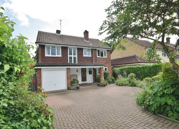 Thumbnail 4 bed detached house for sale in St. Johns Rise, Woking