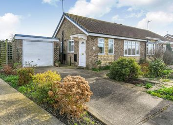 Thumbnail 1 bed semi-detached bungalow for sale in Birkdale Close, Skegness