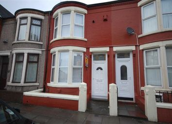 Thumbnail 3 bed terraced house to rent in Poulton Road, Wallasey, Wirral