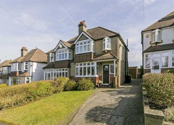Thumbnail 3 bed semi-detached house for sale in The Oval, Banstead, Surrey