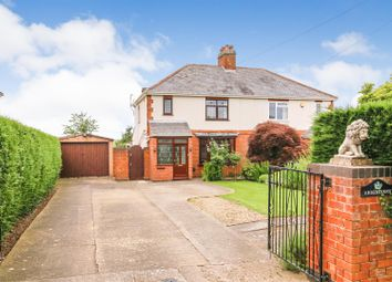Thumbnail 3 bed semi-detached house for sale in Coton Road, Churchover, Rugby