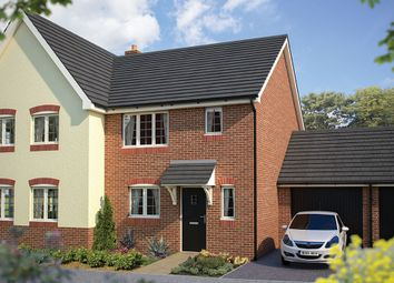 "Thumbnail 3 bed semi-detached house for sale in ""The Southwold"" at Station Road, Salford Priors, Evesham"