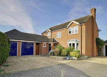 Thumbnail 4 bed detached house for sale in Pippin Close, Offord D'arcy, St. Neots