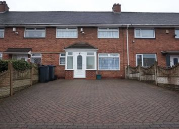 Thumbnail 3 bed terraced house for sale in Yenton Grove, Erdington, Birmingham