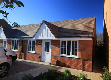 Thumbnail 2 bedroom terraced bungalow for sale in Cover Drive, Bottesford, Nottinghamshire