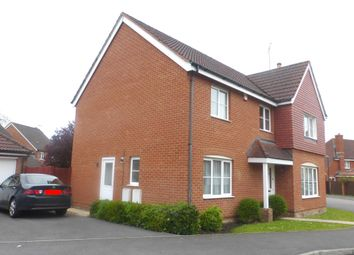 Thumbnail 4 bed detached house to rent in Wynwards Road, Swindon