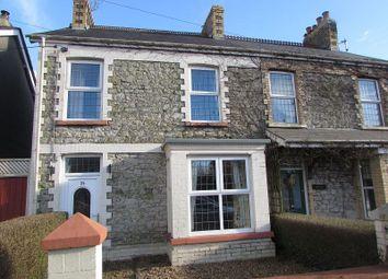 Thumbnail 3 bed semi-detached house for sale in Coychurch Road, Pencoed, Bridgend.