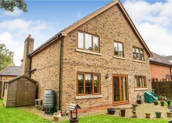 Thumbnail 5 bed detached house for sale in Top Lodge Close, Lincoln