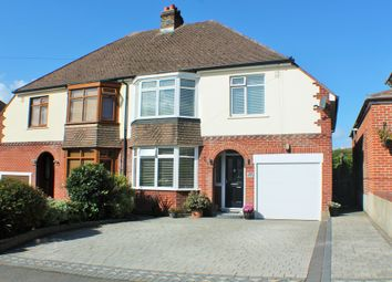 Thumbnail 4 bed semi-detached house for sale in Rectory Avenue, Farlington, Portsmouth