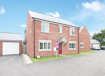 Thumbnail 4 bed detached house for sale in Longmeadow Way, Birstall, Leicester