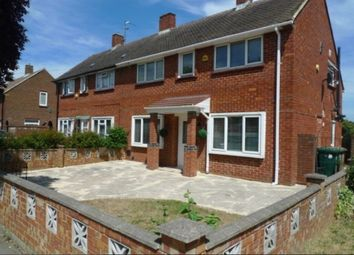 Thumbnail 3 bed semi-detached house to rent in Clare Road, Stanwell, Staines