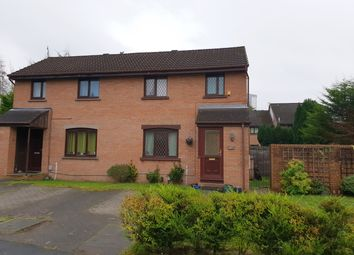 Thumbnail 2 bed end terrace house for sale in Millhouse Drive, Glasgow