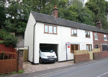 Thumbnail 4 bed semi-detached house for sale in Cheadle Road, Cheddleton, Staffordshire