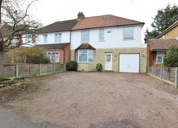 Thumbnail 4 bedroom semi-detached house for sale in High Road, Broxbourne