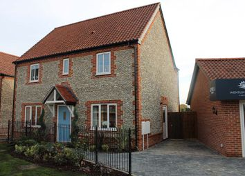 Thumbnail 4 bedroom detached house for sale in Farm Drive, Fakenham