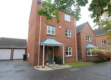 Thumbnail 4 bed detached house for sale in Page Close, Coalville