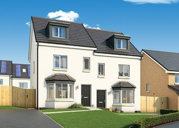 "Thumbnail 3 bed property for sale in ""The Roxburgh"" at Hallhill Road, Glasgow"