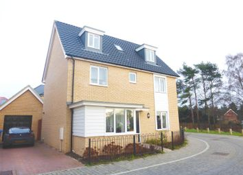 Thumbnail 5 bed detached house to rent in Brentwood, Norwich