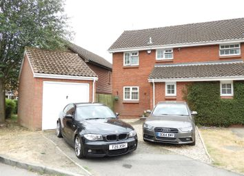 Thumbnail 3 bed semi-detached house for sale in Downland Road, Swindon