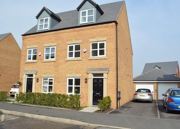 Thumbnail 3 bed semi-detached house to rent in Steetley Drive, St Helens