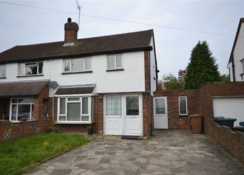 Thumbnail 2 bed semi-detached house to rent in Oakfield, Mill End, Rickmansworth, Hertfordshire