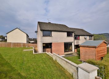 Thumbnail 4 bed semi-detached house for sale in Macrae Crescent, Dingwall