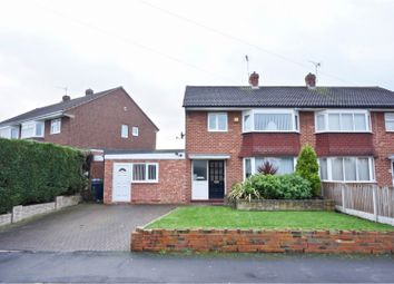 Thumbnail 3 bed semi-detached house for sale in Weston Drive, Shrewsbury