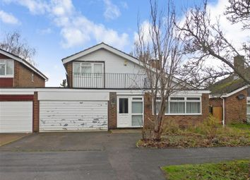 Thumbnail 4 bed detached house for sale in Hurstville Drive, Waterlooville, Hampshire
