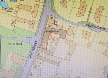 Thumbnail Land for sale in King Street, Scalford, Melton Mowbray