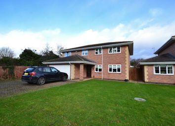 Thumbnail 4 bed detached house for sale in Farmfield Road, Leckhampton, Cheltenham