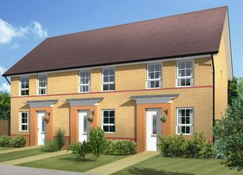 "Thumbnail 2 bed semi-detached house for sale in ""Ashford"" at Warkton Lane, Barton Seagrave, Kettering"