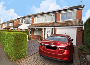 Thumbnail 4 bed semi-detached house for sale in Cheswick Close, Winyates Green, Redditch