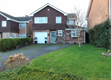 Thumbnail 4 bed detached house for sale in Windmill Drive, Marchington, Uttoxeter
