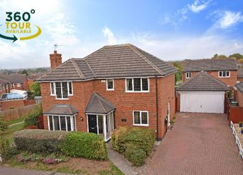 Thumbnail 4 bed detached house for sale in Geveze Way, Broughton Astley, Leicester