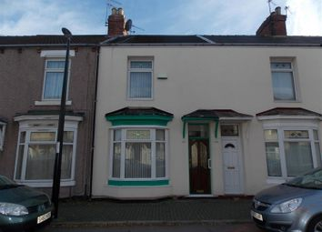 Thumbnail 3 bed terraced house for sale in Warwick Street, Middlesbrough