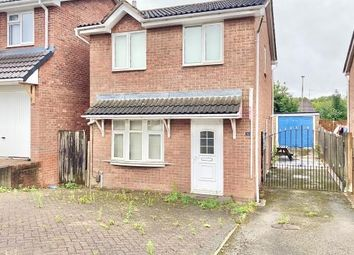 Thumbnail 3 bed detached house for sale in Swallowdale Drive, Anstey Heights, Leicester, Leicestershire