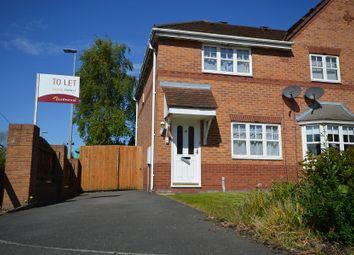 Thumbnail 3 bed semi-detached house to rent in Chaucer Grove, Ettiley Heath, Sandbach, Cheshire