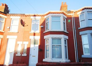 Thumbnail 3 bed terraced house for sale in Weardale Road, Wavertree, Liverpool