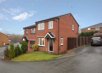 Thumbnail 3 bed semi-detached house to rent in Greig Court, Heath Hayes, Cannock