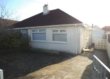 Thumbnail 2 bed bungalow to rent in Tennyson Drive, Cefn Glas, Bridgend