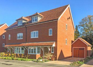 Thumbnail 4 bed semi-detached house for sale in Wood Croft, Billingshurst, West Sussex