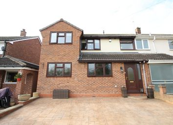 Thumbnail 4 bed semi-detached house for sale in Windmill Close, Warton, Tamworth