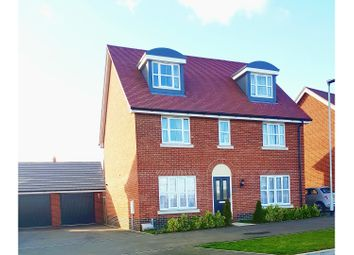 Thumbnail 5 bed detached house for sale in Brooke Way, Stowmarket