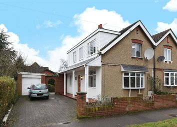 Thumbnail 3 bed semi-detached house for sale in Queen Alexandra Road, Bedford